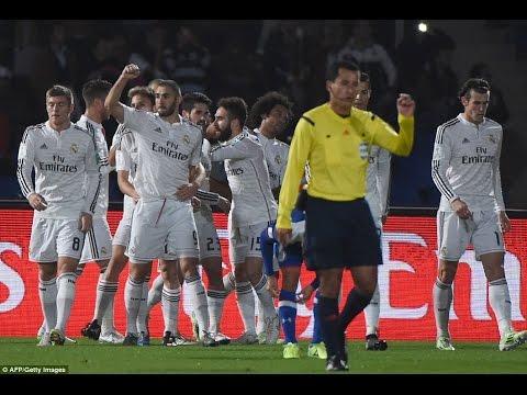 Real Madrid 4-0 Cruz Azul: European champions smash Mexicans to reach Club World Cup final