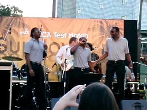 Calypso Kings, Gayle, Bravo & Benn sing.