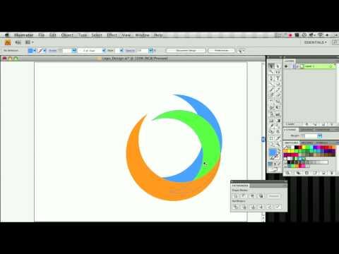 Logo Using Adobe Illustrator ▶ Adobe Illustrator Logo