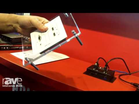 InfoComm 2015: Hall Research Shows Off the VGA/HDMI/MHL Auto-Switching Wall Plate with HDBaseT