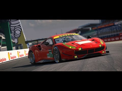 The Ferrari 488 GTE   Available Now
