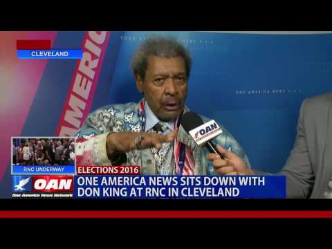 OAN EXCLUSIVE: Don King at the RNC Convention in Cleveland