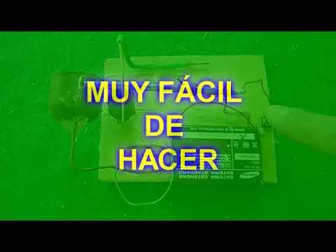 Cómo hacer un timbre casero (Fácil de hacer)