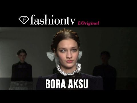 Bora Aksu Fall winter 2014-15 | London Fashion Week Lfw | Fashiontv video