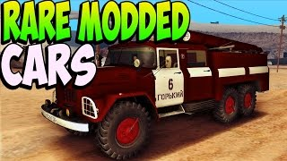 GTA 5 Glitches - RARE MODDED CARS In GTA 5 Online - Modded Rare Vehicle (GTA 5 Secret Vehicles)