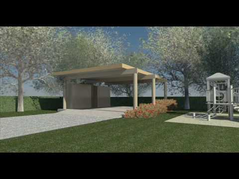 Clifford o reid architect modern carport design youtube for Modern carport designs plans
