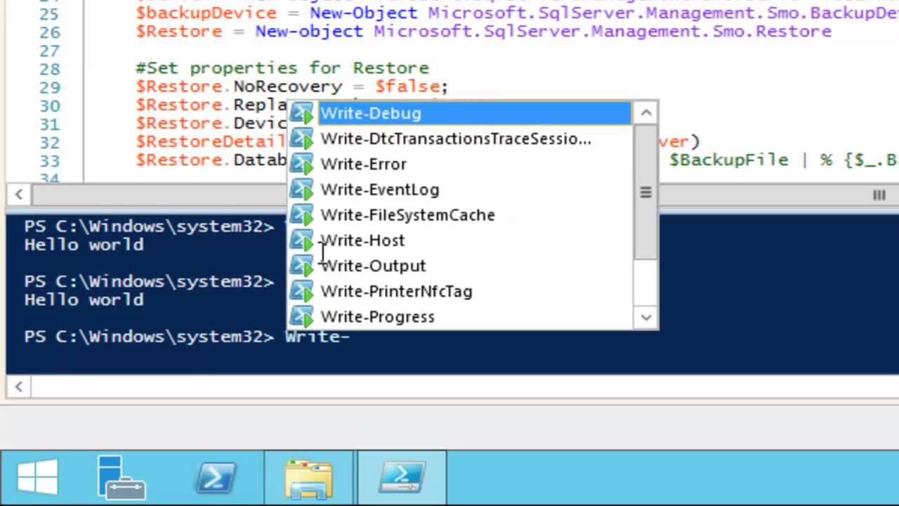 How Do I Create Powershell Scripts For Microsoft Dynamics