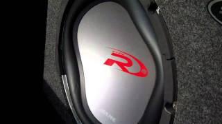 Crazy Flex, Factory Audi symphony/Bose with Old school Alpine type R15