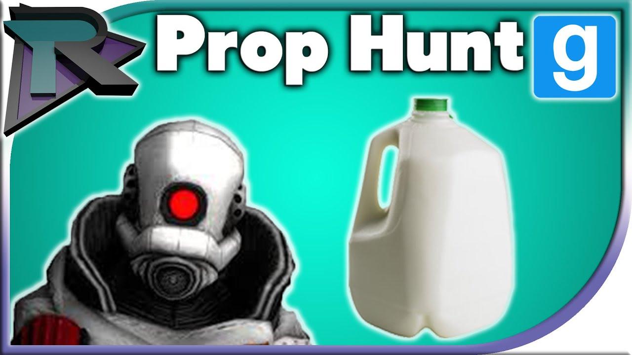 Milk Jug Shenanigans! - Prop Hunt - YouTube