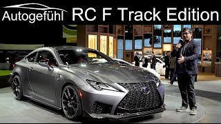 Lexus RC F Track Edition with Carbon and 5.0 l N/A V8 REVIEW - Autogefühl