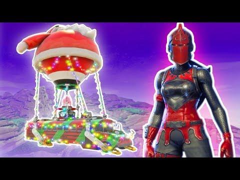 FORTNITE RED KNIGHT! FORTNITE NEW CHRISTMAS UPDATE! Fortnite Battle Royale  Funny Moments