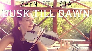 Dusk Till Dawn Zayn Ft Sia For Violin And Piano