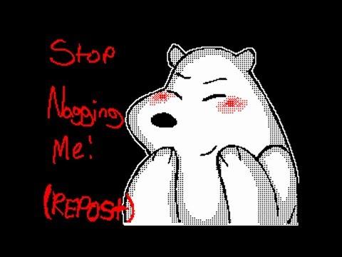 Stop Nagging Me Flipnote
