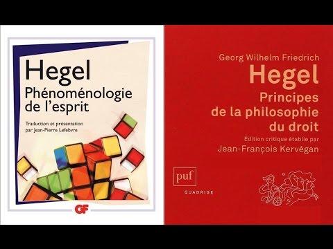 Hegel  - Reconnaissance et philosophie du droit (France culture)