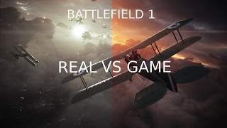 The REAL BATTLEFIELD 1, single player trailer music, Real VS Game
