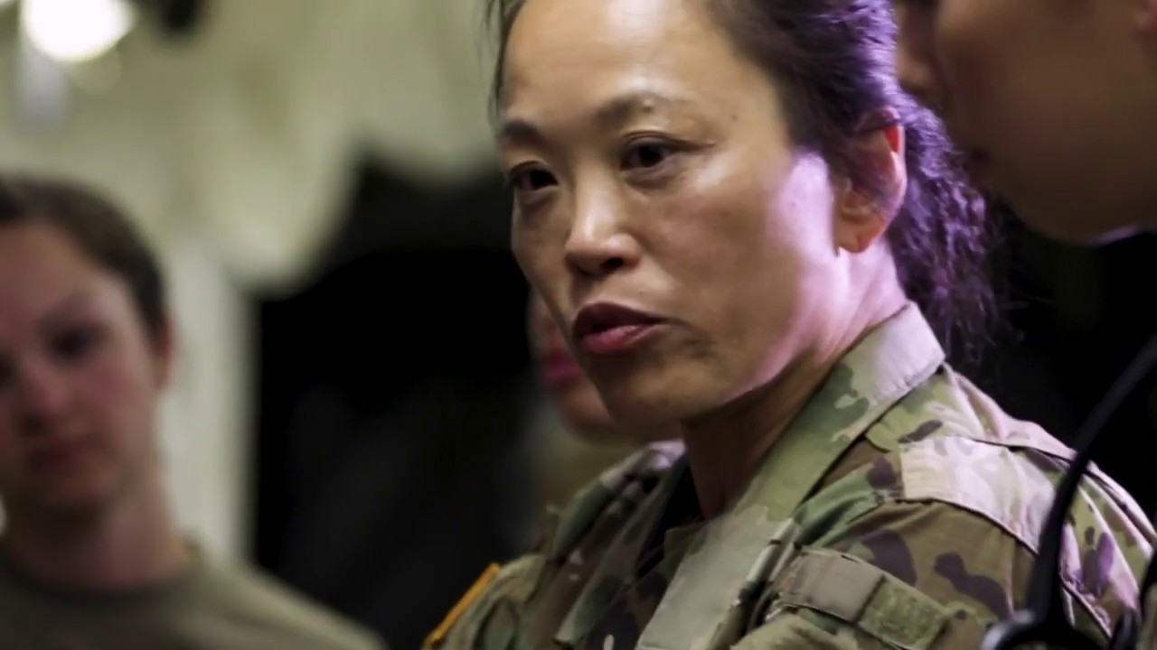 Lt. Col. Julie Fung-Hayes, an emergency physician and flight surgeon, shares why she loves serving in the U.S. Army Reserve.
