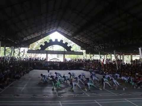 140804 LSPU - SCC College of Engineering Cheerdance