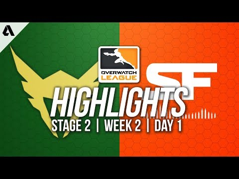 Los Angeles Valiant vs San Francisco Shock | Overwatch League Highlights OWL Stage 2 Week 2 Day 1