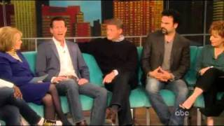 "The Men Of Desperate Housewives on ""The View"" Part 2"