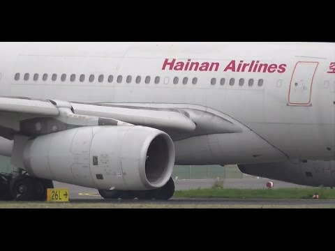 Hainan Airlines Airbus A330-243 B-6089 takeoff at Berlin Tegel airport