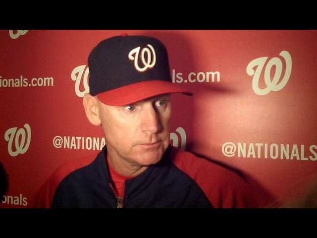 WSH@LAD: Matt Williams on win in Los Angeles