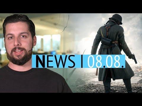 Battlefield 1 bekommt Perk-System - Spelunky-Macher hat 50 neue Spiele entwickelt - News