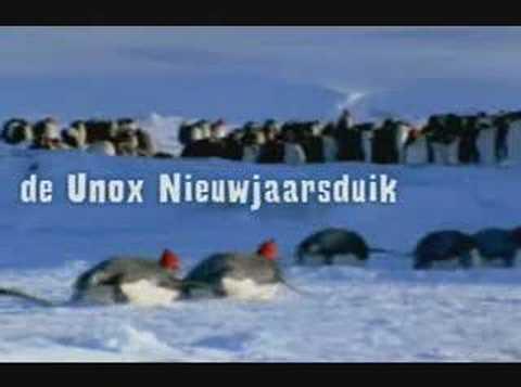 Unox – nieuwjaarsduik 2001