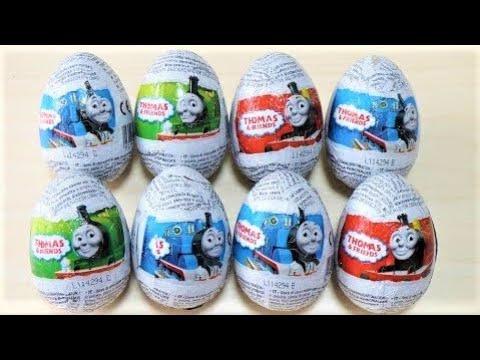 Surprise Egg ×8 Thomas & Friends きかんしゃトーマス チョコエッグ