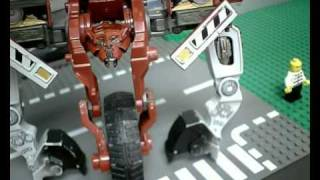 Transformers Stopmotion: Revenge of the Decepticons