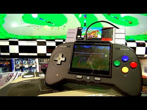 Handheld NES/SNES console - Retro Duo Portable - Blunty Does CES
