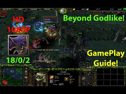★DoTa Nerubian Assassin - GamePlay / Guide★KDA: 18/0/2!★Beyond Godlike!★