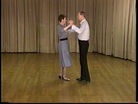 Learn to Dance the Foxtrot - Basic Step with Bridge Ending  - Ballroom Dancing