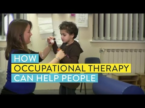 How occupational therapy can help people