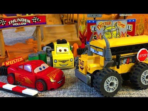 Тачки 3 Молния Маквин Мисс Крошка Мультики про Машинки Лего Cars 3 Lightning McQueen Lego