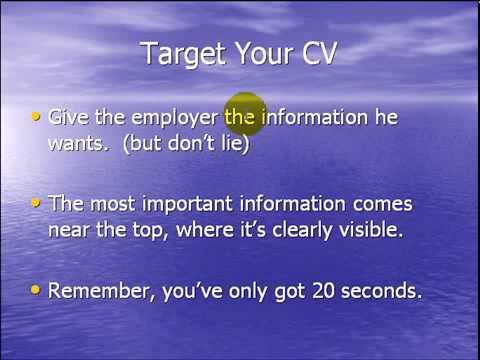როგორ შევქმნათ CV