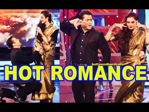 Bigg Boss 8 - Salman Khan & Rekha's Hot Romance video