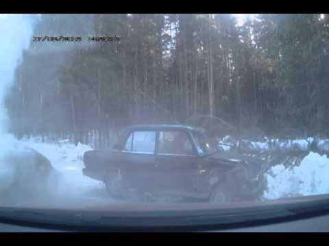 Авария — Полевской, 17.02.2013