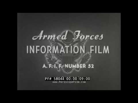 NORWAY & DENMARK 1951 U.S. ARMED FORCES COLD WAR ORIENTATION FILM 58044