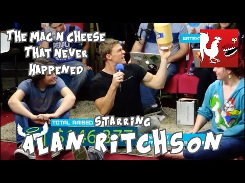 Alan Ritchson and the Mac N Cheese that Never Happened - RTExtraLife 2014