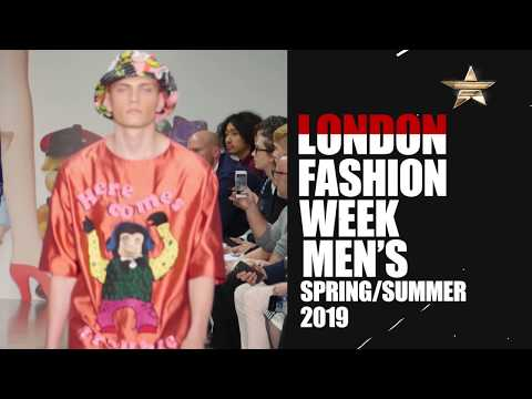 London Fashion Week Men's Spring Summer 2019 TVC