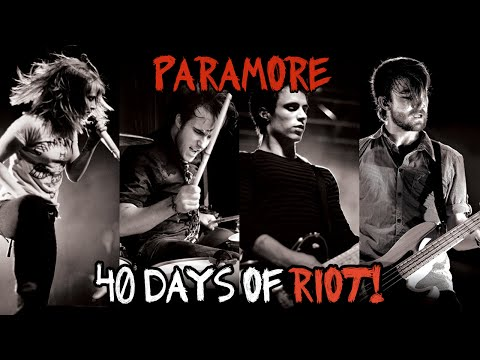 Paramore - 40 Days Of Riot! (full Special) Hd video