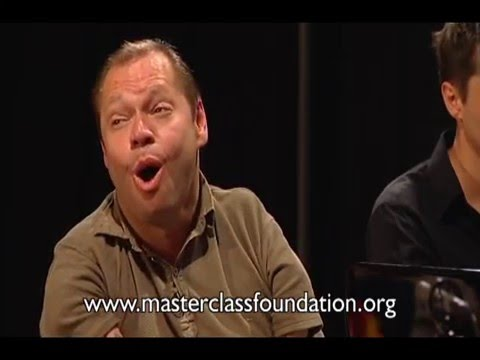 Thomas Quasthoff Singing Masterclass