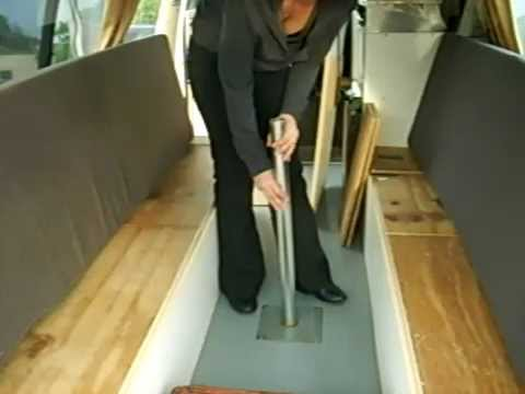 How To Turn A Table Into A Bed In A Campervan Part 2