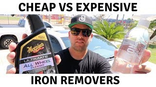 CHEAP VS EXPENSIVE: MEGUIARS ALL WHEEL CLEANER VS GYEON IRON