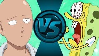 SAITAMA (ONE PUNCH MAN) vs SPONGEBOB SQUAREPANTS! Salt Assault