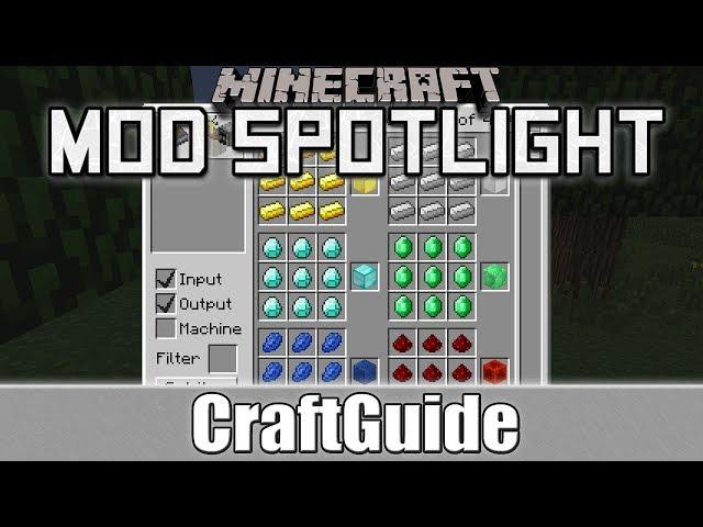 Minecraft Mod Spotlight: CraftGuide (1.6.2/1.6.4)