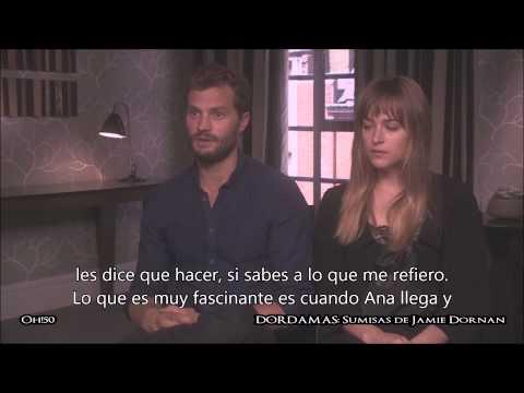 Entrevista Jamie Dornan y Dakota Johnson Julio/2014 Subtitulada