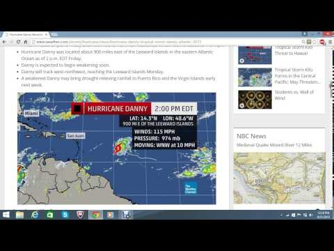 WNN SPECIAL REPORT: Hurricane Danny