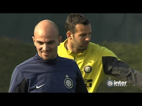 ALLENAMENTO INTER REAL AUDIO 14 03 2014