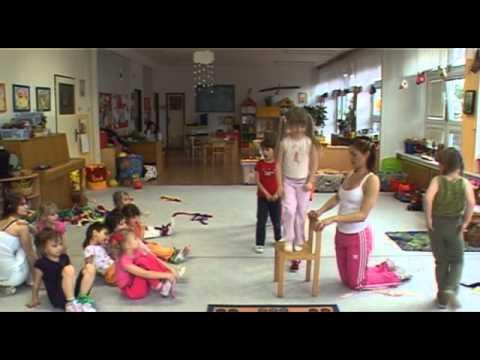 Cvičení s Hankou Kynychovou pro děti - 3. část